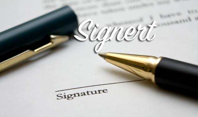 Signert