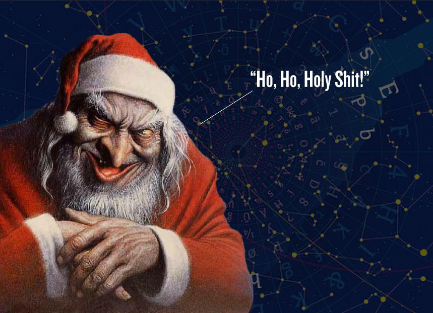 Julebrev fra Commish